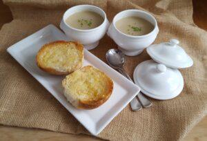 elephant garlic soup